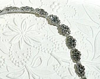 Rhinestone Chain Piece Bridal Trim Rhinestone Trim BT-149