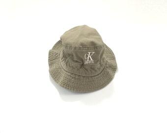 CK BUCKET HAT // 90s // Calvin Klein Bucket Hat // Bucket Hat // 90s Bucket Hat // Calvin Klein Hat // Bucket Hat // 90s Bucket Hat // Ck