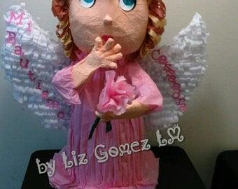 "Angel pinata,3D,26"" tall."