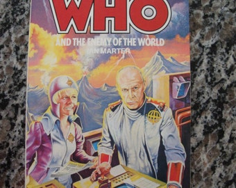 Doctor Who and The Enemy of the World- Target Paperback Book