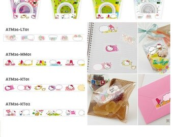 2016 3M Scotch Sanrio 36mm x 6m Xmas Gift Scrabooking Tapes Hello Kitty My Melody Little Twin Stars