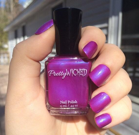 Pink Purple Nail Polish: Magenta Nail Polish Margo Polish Purple Nail Polish Pink