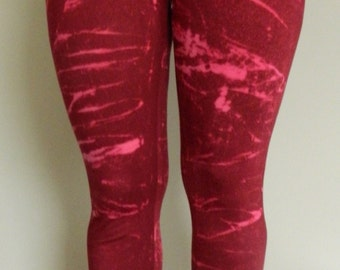 Tie Dye Leggings acid wash Yoga Pants yoga Leggings hand Printed Leggings galaxy customized personalised leggings Made in UK
