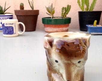 Vintage Demure Bear Mug