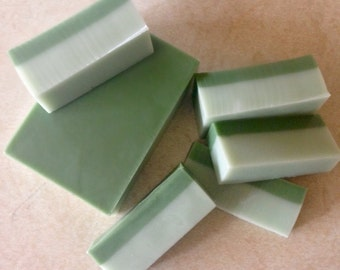 Mint Chocolate Bar Soap- Travel Ready-Great for Gift- Shea, cocoa, and mango body butter base- Smells Yummy