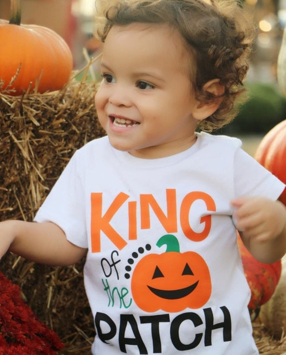Boys Pumpkin Tshirt