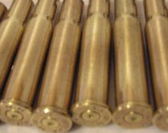30 30 Winchester Lever Action Recycled Brass Bullet Casings - Cleaned & Polished - 5 and 10 Count Available - Reloading or Craft