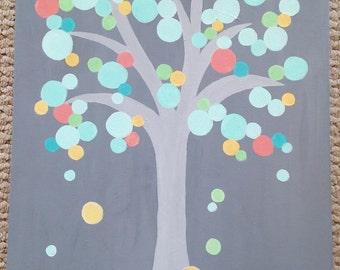 """Canvas Painting, """"Bubbles"""""""