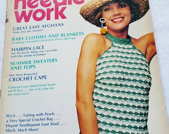 Summer 1978 Lynn Brooks Needlework Knit and Crochet Pattern Magazine ReTrO GrOOvy!
