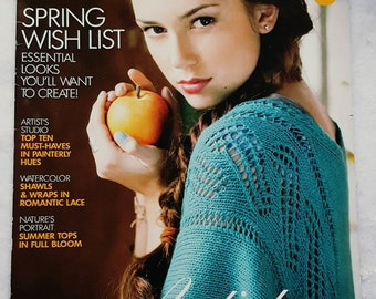 Spring/Summer 2012 Vogue Knitting Magazine New
