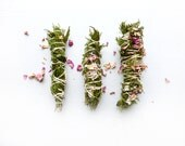 Cedar Rose smudge stick// White Sage//Sweetgrass//Smudge Stick//Space clearing//Protection//Cleanse//Housewarming gift