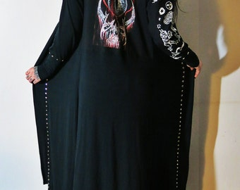 Inquisition Studded Maxi Robe