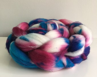 OOAK - 80/20 Superwash Merino Cashmere spinning fiber top