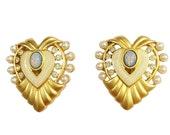 Elizabeth Taylor for Avon Heart of Hollywood Earrings