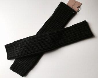 Fingerless Gloves / Knit Gloves / Knit Fingerless Gloves / Knit Arm Warmers / Women's Gloves / marcellamoda k - MA418