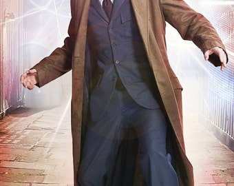 10th Doctor Who Children's Suit! David Tennants Pinstripe Suit for Little Whovians -Childrens Sizes 1 to 10