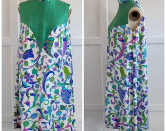 1960s Pierre Cardin silk print dress Eur 38