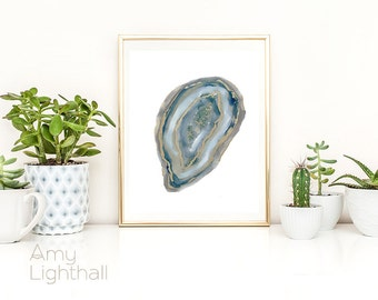 geode art, geode agate, agate art, contemporary art, abstract geode, abstract art, cabin art, cabin decor, rustic wall art, rustic decor