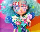 Caramelpops Custom Pullip Art Doll (Wondrous Cloud Puff)
