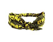 Tie Headband made from Star Wars Fabric, Vintage Style Headband made from The Force Awakens Fabric, Bandana Hairband