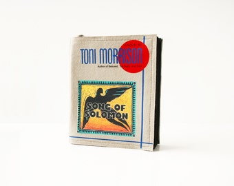 Song of Solomon Felt Book Purse Toni Morrison Felt Book Bag