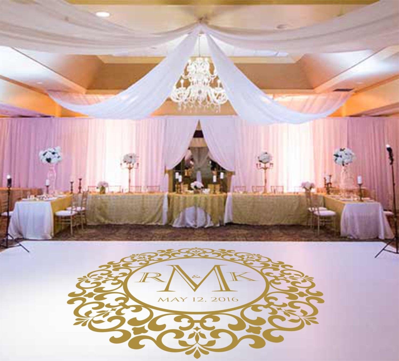 Wedding Dance Floor DecalVinyl Decal Wedding Decor Wedding