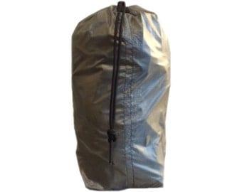 Grey Water Resistant Ultralight Stuff Bag / Stuff Sack