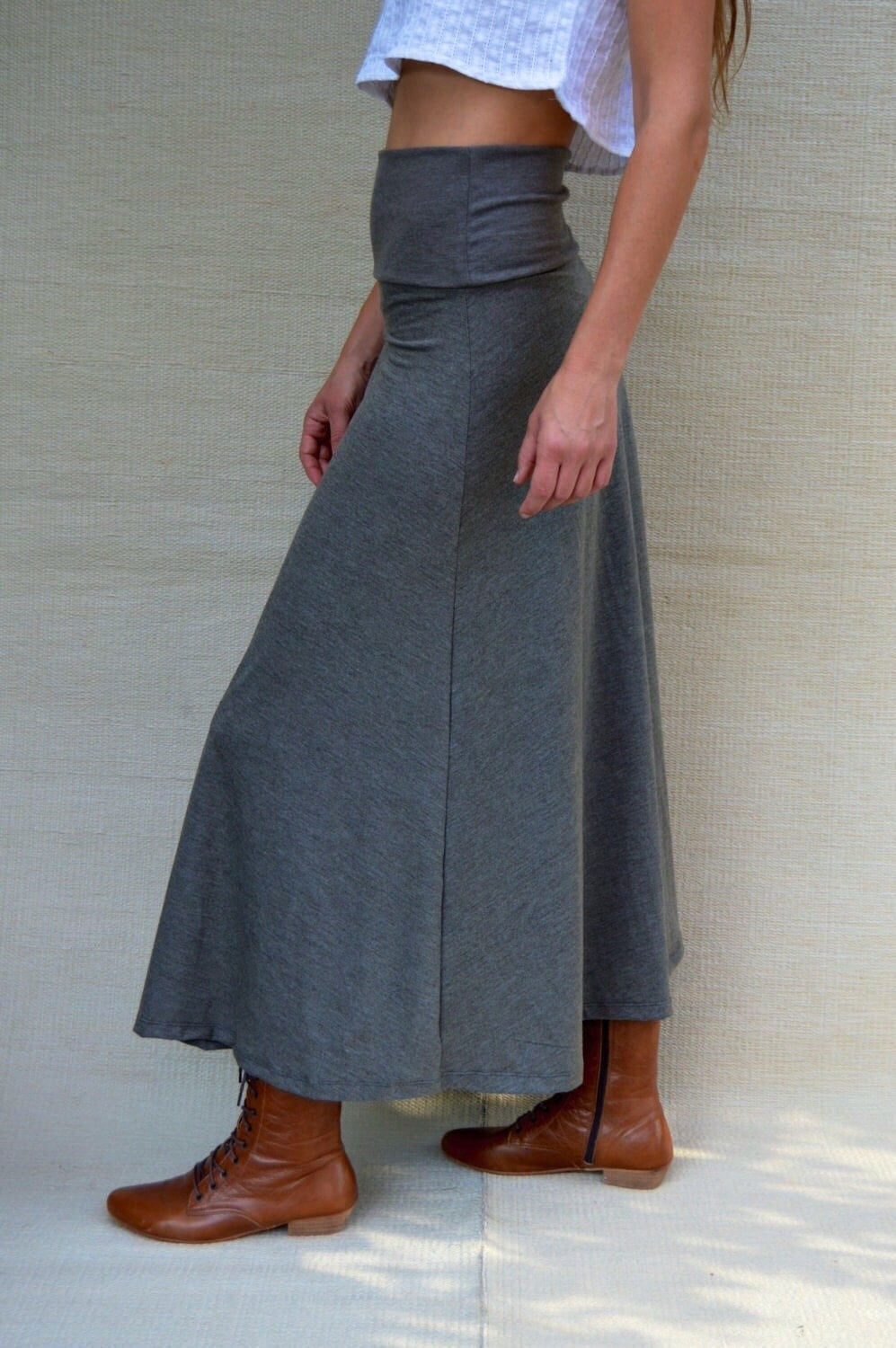 maxi skirt high waisted maxi skirt a line skirt womens