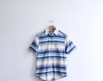 Desert Stripe 90s Button Down Shirt