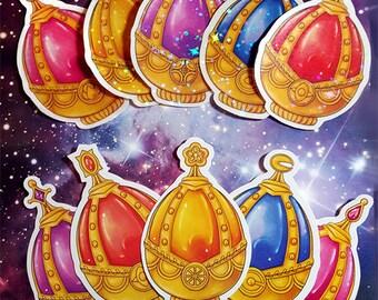 Puella Magi Madoka Magica Soul Gem Stickers