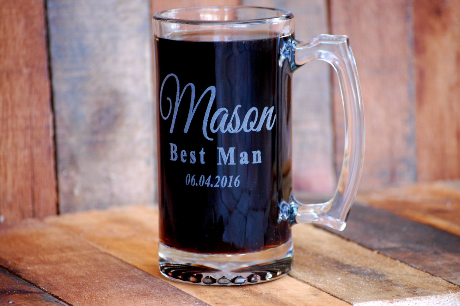 Wedding Gift Beer Mugs : Wedding Beer Mugs Personalized Groomsmen Gifts Customized Beer