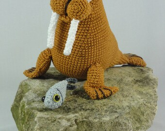 Amigurumi Crochet Pattern - Walter the Walrus