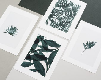 PACK of 4 Posters Small BOTANICA Serie