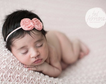 Pick One, Bow Headband, White Bow Headband, Lavender Headband, Pink Bow Headband, Photography Prop, Headband, Newborn Headband, Headband