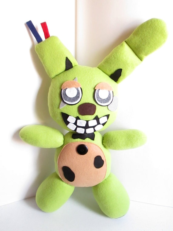 Springtrap Plush Inspired By Five Nights At Freddy S
