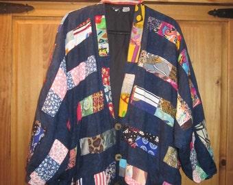 Jacket Indonesian Batik Patchwork