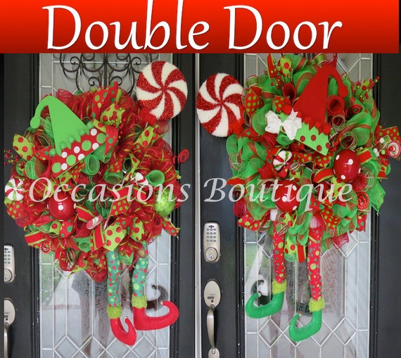 Christmas Wreaths For Double Front Doors
