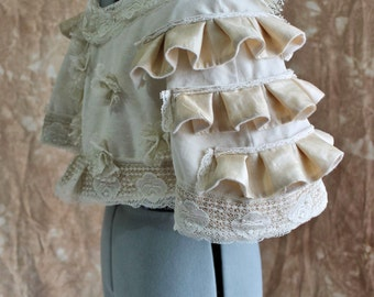 Victorian Velvet Capelet for Bohemian Shipwreck Eco Weddings Custom size