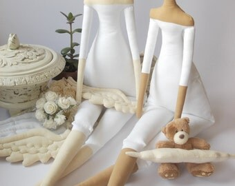 Tilda Doll BODY for crafting- handmade doll-25 inches tall- Pre-Sewn and Stuffed Blank Doll Body- collectible dolls- tildas- cloth doll body