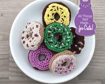 Mini Crochet Donuts (Set of 6) #1