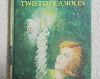 Nancy Drew Mystery Story, The Sign of the Twisted Candles, Book #9, Copyright 1968, Vintage