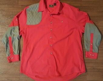 Vintage Hunting Shirt Vintage Shooting Shirt Lumberjack Shirt Upland Shirt Briar Shirt Workwear Shirt Field Shirt Filson Style Shirt