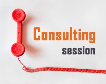 Consulting Session - Etsy Coaching, Shop Critique, Product Descriptions, Marketing Help, Business Coaching, Shop Analysis