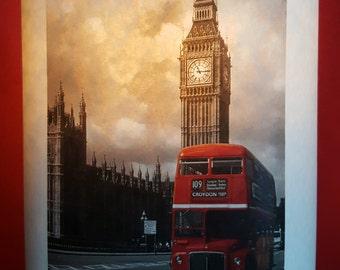 Lampshade London Bus