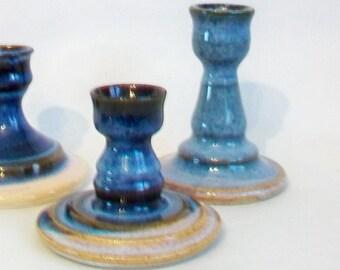 Candlestick Holder - Single - Handmade on the Potters Wheel