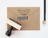 Return Address Stamp Wedding Invitation Stamp Personalized Rubber Stamp Calligraphy Address Labels Custom Stamp Wedding Gifts Housewarming
