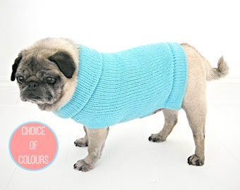 Knitting Pattern For Pug Jumper : Pug sweater Etsy