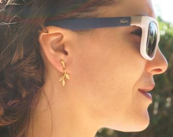 Minimalist Earrings, Gold Simple Earrings, Minimal Earrings, Dainty Earrings, Stud Earrings, Gold Earrings, Gold Everyday Earrings