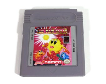 Nintendo Game Boy Ms. Pac-Man Retro Video Game Cartridge for Handheld Gaming (1993) Classic Arcade, Lady Pac-Man vs Ghosts, Fast-Paced Maze