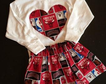 Chicago Bulls outfit, chicago bills, chicago bulls gift, chicago bulls baby